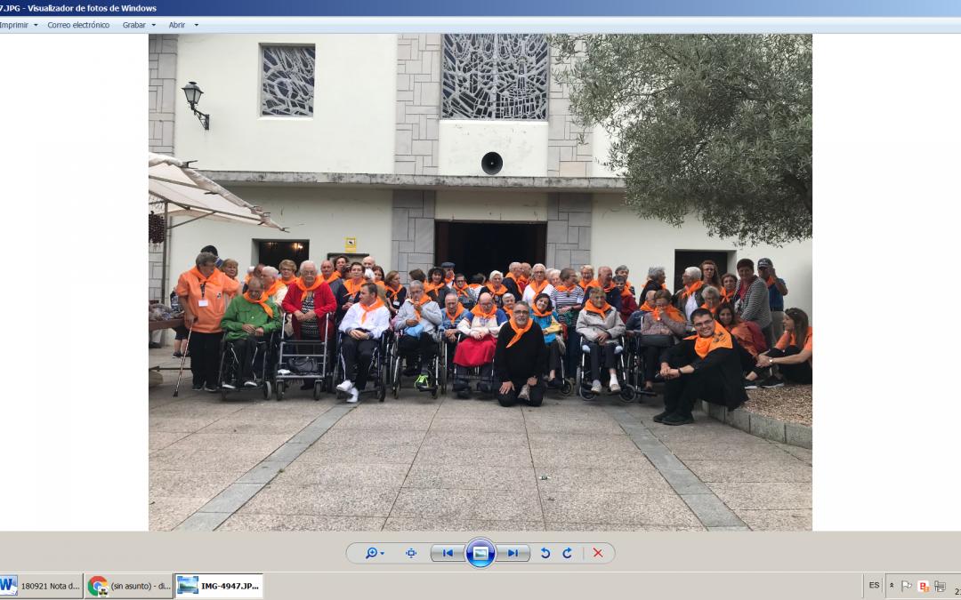 Los Mayores de nuestra Residencia en Luarca se van de peregrinación al Santuario de la Virgen de Villaoril