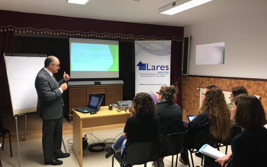 Nuestra Residencia de Vegadeo sede de la primera Asamblea General de Lares Asturias en 2019