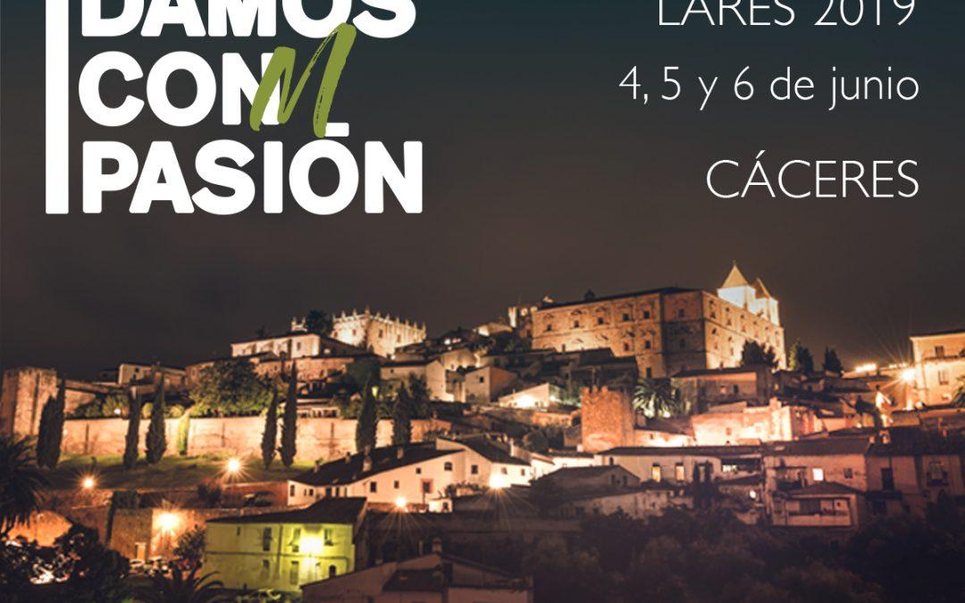 XVI Convención Nacional Lares 2019,  Cáceres 4, 5 y 6 de Junio