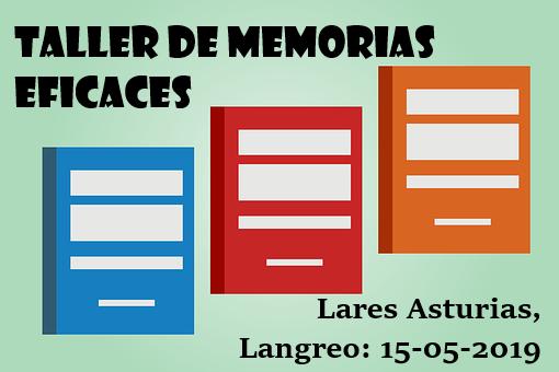 """Taller """"Como hacer Memorias Anuales que Generen Confianza"""" próximo 15 de Mayo en nuestra Residencia de Langreo"""